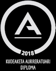 Kudeaketa aurreratuari Diploma 2018