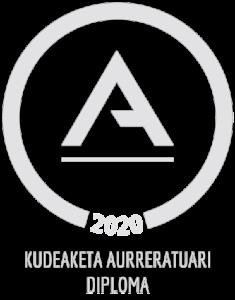 Kudeaketa aurreratuari Diploma 2020